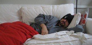 Szkarlatyna w łóżku